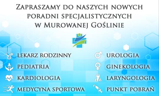 Poradnia Laryngologiczna i Medycyny Sportowej w Murowanej Goślinie